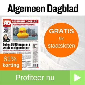 AD abonnement met gratis staatsloten