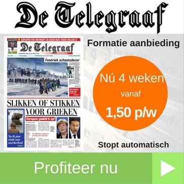 telegraaf formatie aanbieding