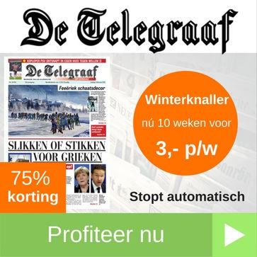 Telegraaf winterknaller proefabonnement