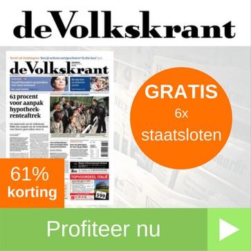Volkskrant 1 jaarabonnement gratis staatsloten