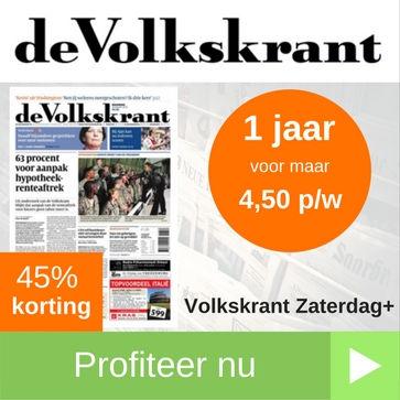Volkskrant zaterdag+ proefabonnement