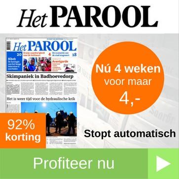parool proefabonnement 4 weken 4 euro web