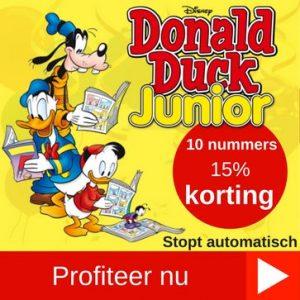 Donald Duck Junior preofabonnement