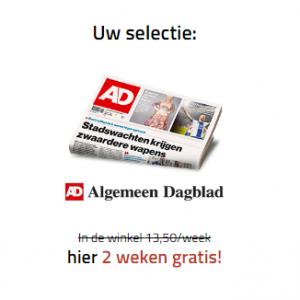 Gratis krant AD