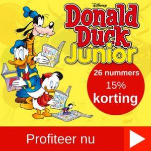 Donald Duck Junior abonnement