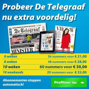 Bijna gratis krant: Telegraaf