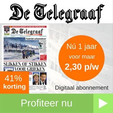 Telegraaf 1 jaar digitaal