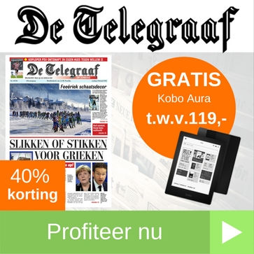 Telegraaf aanbieding 2 jaar