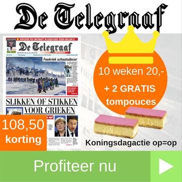Telegraaf koningsdag
