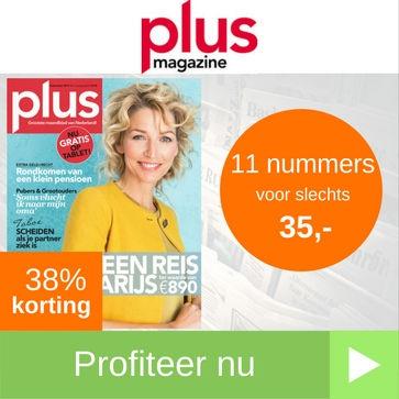 Plus Magazine 11 nummers abonnement