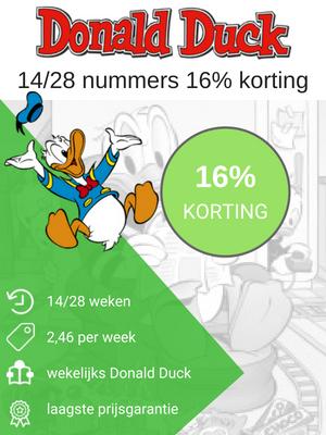 Donald Duck abonnement